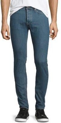 Iro Hopper Skinny-Leg Denim Jeans, Denim Blue $245 thestylecure.com