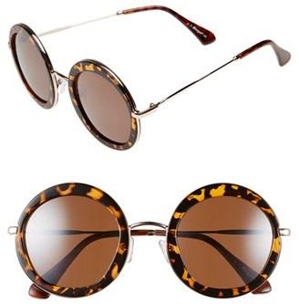 A.J. Morgan 'Clique' 50mm Round Sunglasses $24 thestylecure.com