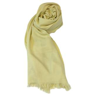 Hermes Chale Yellow Cashmere Scarves
