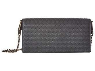 Bottega Veneta Chain Crossbody Wallet
