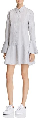 Equipment Tracey Striped Shirt Dress - 100% Exclusive $288 thestylecure.com