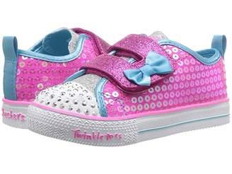Skechers Twinkle Toes - Shuffle Lite Mini Mermaid 20063N (Toddler/Little Kid)