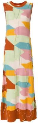 Marni distressed knit dress