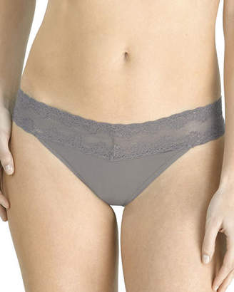 Natori Bliss Perfection Lace-Trimmed Thong