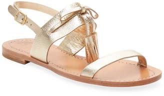Kate Spade Metallic Leather Sandal