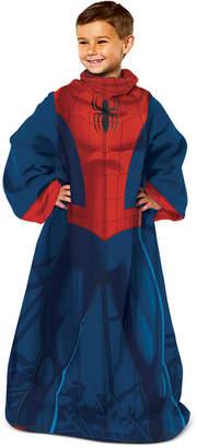 Marvel Kids' Spider-Man Spider Up Comfy Throw
