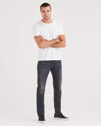 7 For All Mankind Adrien Slim Tapered with Moto Detail in Archangel