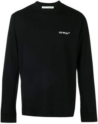 Off-White embroidered logo sweatshirt