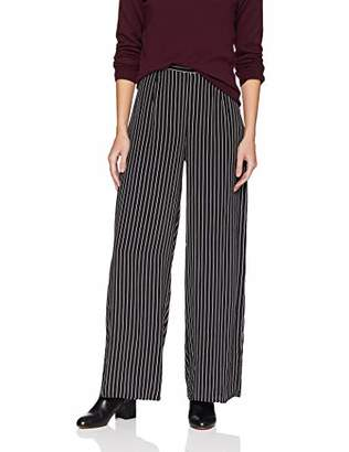 Three Dots Women's DA6160 Stripe Printed Cropped Pant
