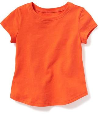 Jersey Scoop-Neck Tee for Toddler Girls $8.94 thestylecure.com