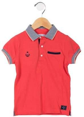 Mayoral Boys' Graphic Polo Shirt
