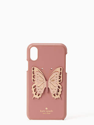 Kate Spade Butterfly applique iphone xr case
