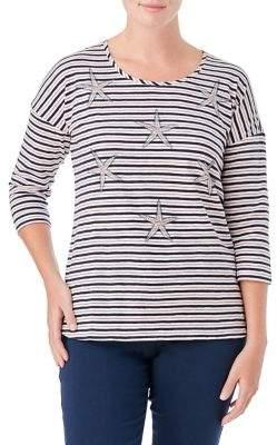 Olsen Organic Cotton Striped Starfish Tee