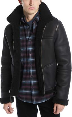 Vince Men's Reversible Shearling Leather Jacket