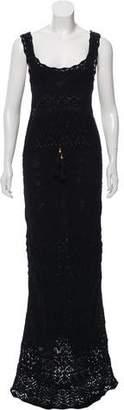 Emilio Pucci Open Knit Maxi Dress