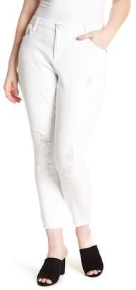 STS Blue Emma Fray Hem Skinny Jeans (Plus Size)