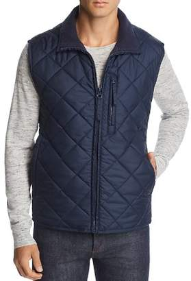 Andrew Marc Chester Quilted Zip-Front Vest