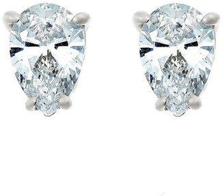 Affinity Diamond Jewelry Pear Diamond Stud Earrings, 14K, 1/4cttw, by Affinity