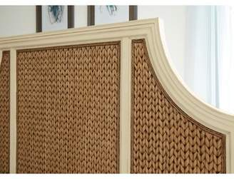 Panama Jack Bridge Hampton Woven Seagrass Panel Headboard