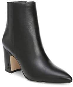 Sam Edelman Hilty Pointy Leather Booties