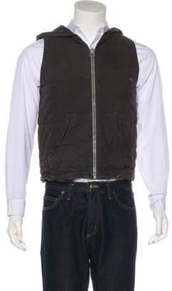 Greg Lauren Tent Puffer Vest