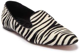 BOSS Tilda Zebra Print Calf Hair Loafer