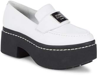 Opening Ceremony Women's Leather Platform Loafers