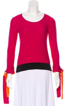 Sonia Rykiel Lightweight Colorblock Sweater