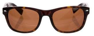 7 For All Mankind Echo Tortoiseshell Sunglasses