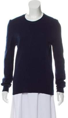 Celine Céline Cashmere Crew Neck Sweater Navy Céline Cashmere Crew Neck Sweater