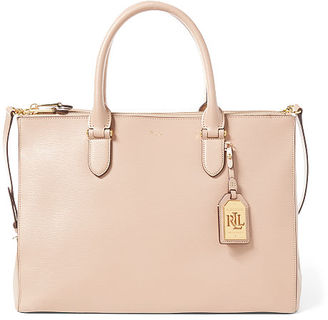 Ralph Lauren Newbury Double-Zip Satchel $278 thestylecure.com