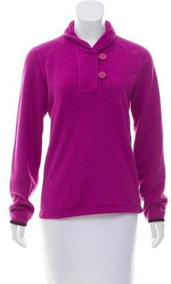 The North Face Mock Neck Zip-Up Sweater