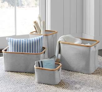 Pottery Barn Camryn Fabric Baskets