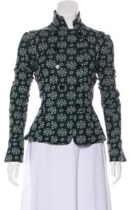 Diane von Furstenberg Casual Print Jacket