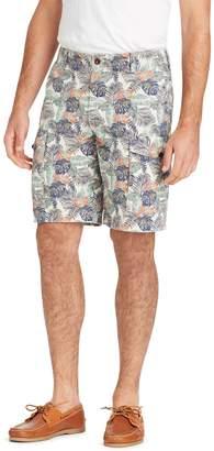Izod Big & Tall Saltwater Beachtown Classic-Fit Cargo Shorts