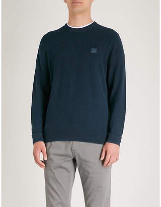 BOSS ORANGE Cotton-knitted jumper