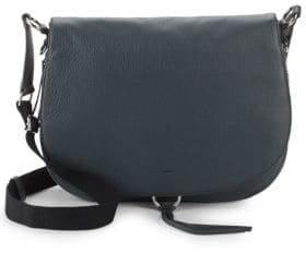 Vince Camuto Barna Leather Saddle Bag