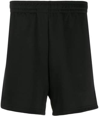 Acne Studios face patch shorts