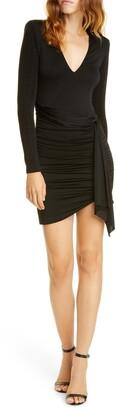Alice + Olivia Kyra Long Sleeve Minidress