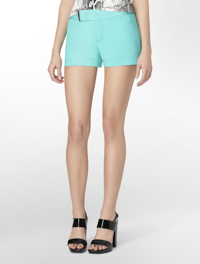 Calvin Klein Dill Solid City Shorts