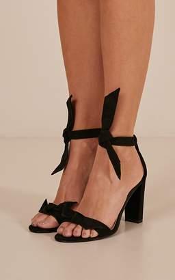 Showpo Billini - Goya heels in black micro