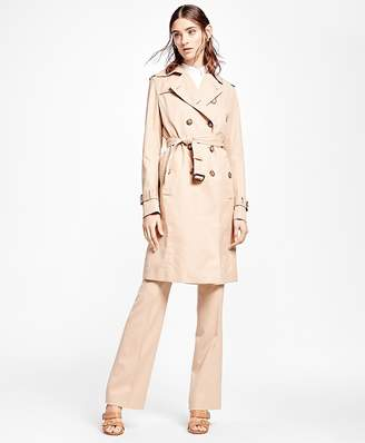 Double-Breasted Trench Coat $598 thestylecure.com