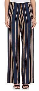Zero Maria Cornejo Women's Eda Striped Pants - Orange
