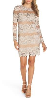 Bronx AND BANCO Violetta Lace Sheath Dress