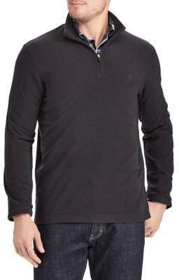 Chaps Fleece Half-Zip Pullover