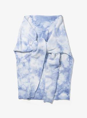 Michael Kors Tie-Dye Cashmere Sweater Muffler