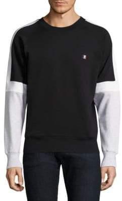 Ami Colorblock Cotton Sweatshirt