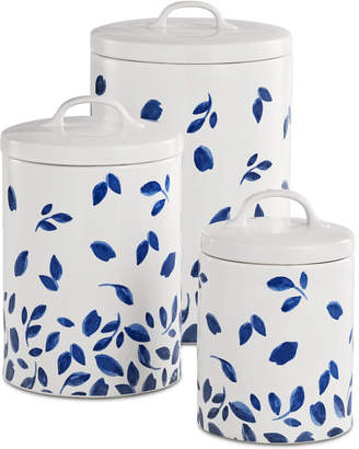 Martha Stewart Collection CLOSEOUT! 6-Pc. Stockholm Lidded Canisters Set, Created for Macy's