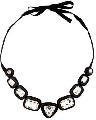 Miu MiuMiu Miu Crystal Collar Necklace