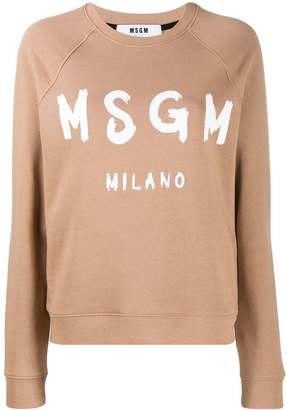 MSGM long sleeved sweater